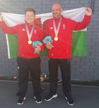 Commonwealth Games Pairs Gold winners - Gold Coast 2018