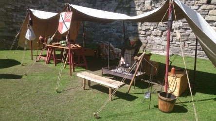 medieval camp cooking food guide garrison castle conditions living dsc