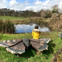 Nature playground at Forest Farm Nature Reserve, Cardiff