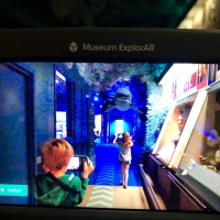 Museum ExplorAR: augmented reality at National Museum Cardiff