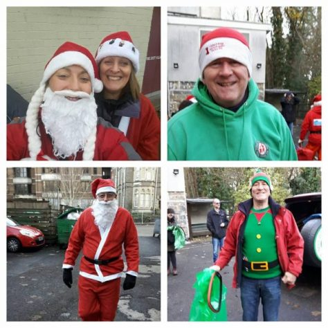 Assorted Santas