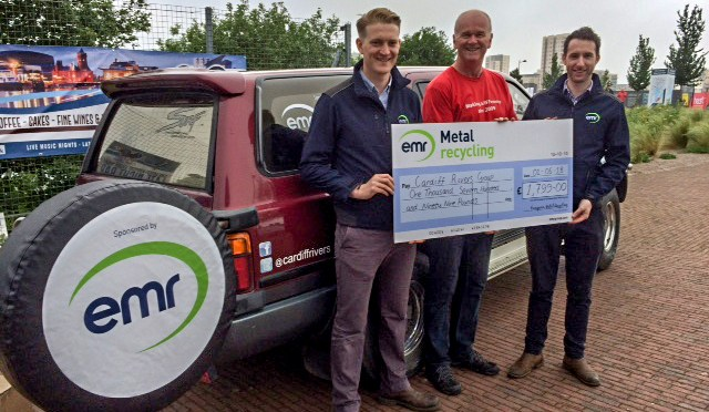Metal recycler EMR launches partnership with Cardiff Rivers Group