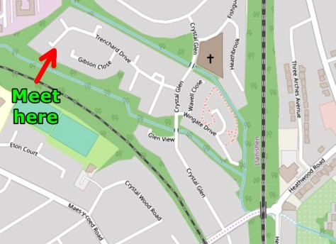 Map of Trenchard Drive