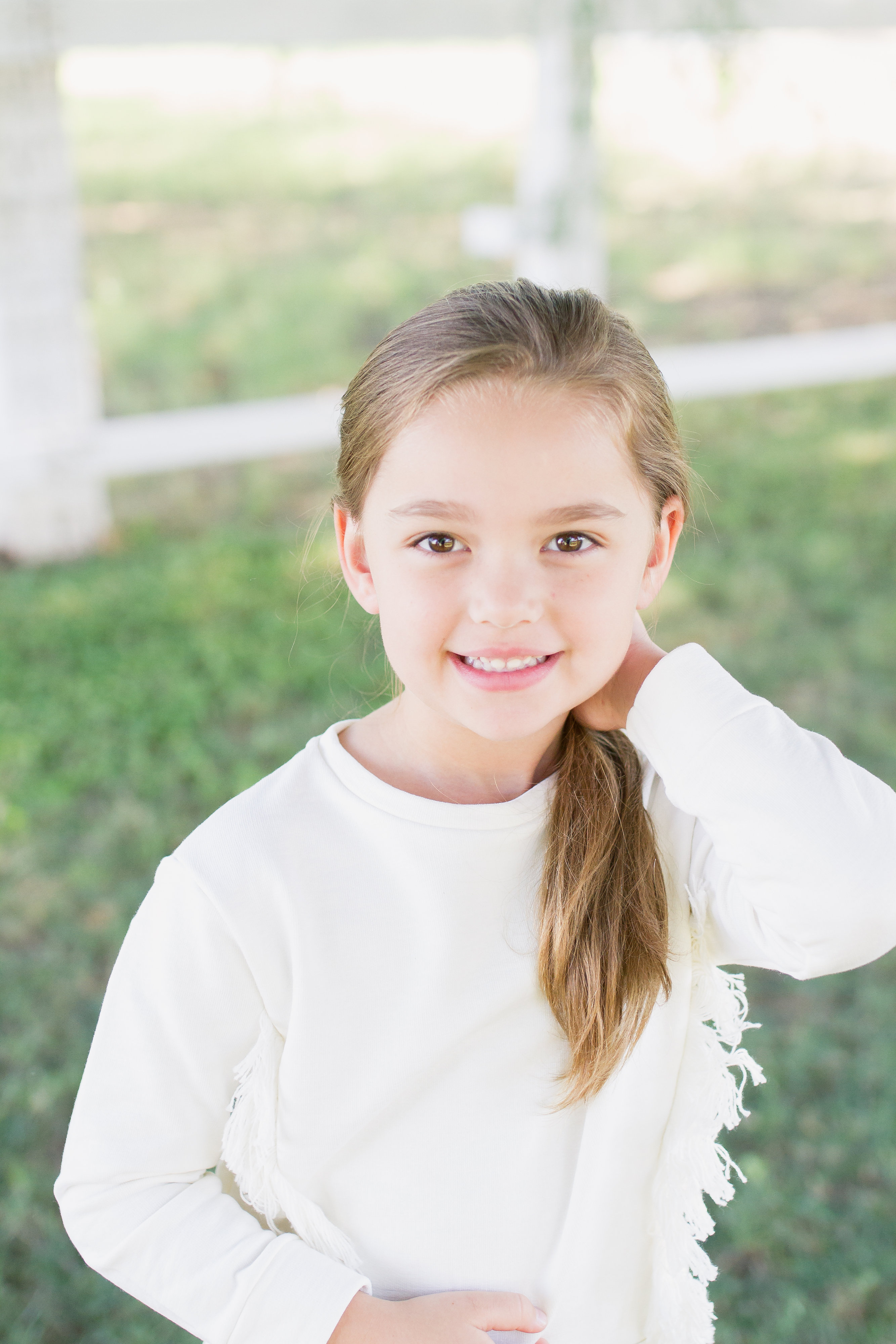 Young Girl Models Nn: Little Girls' Hairstyle Inspiration