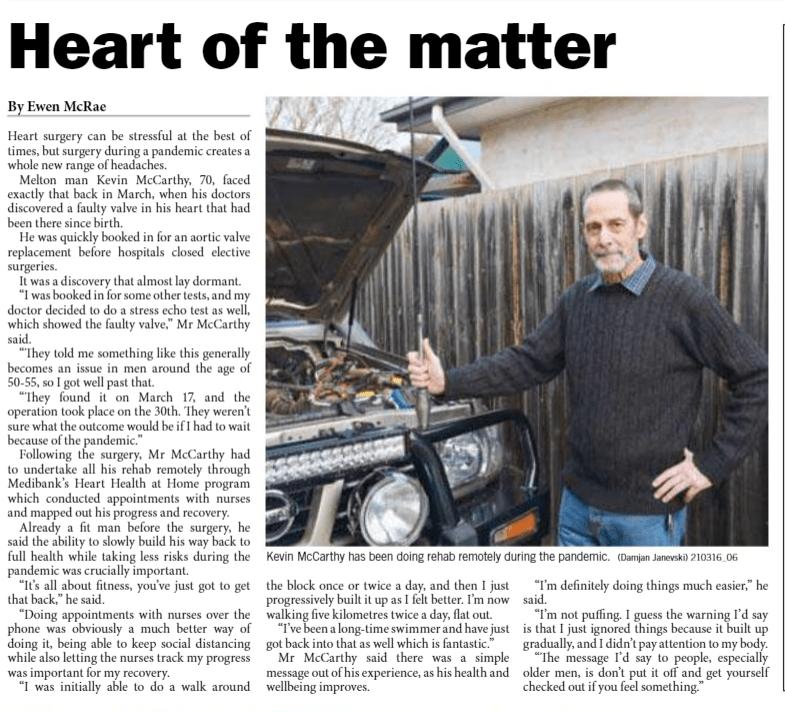 Melton Moorabool Star Weekly News article
