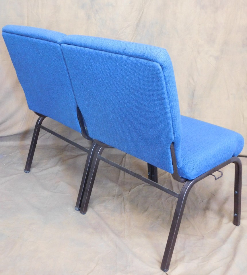 Pew Chairs 22 Enclosed Straight Back Pew Chairs Cardinal Church Furniture