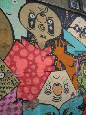 Grafitti in Brenneriveien
