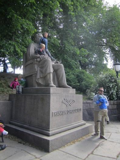 Statue of Franklin D. Roosevelt