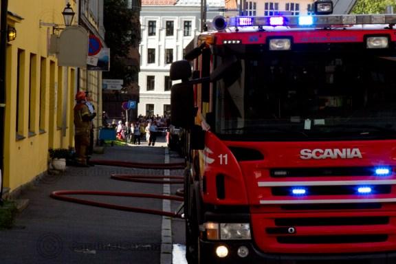 Dramatic fire at Tøyen in Oslo
