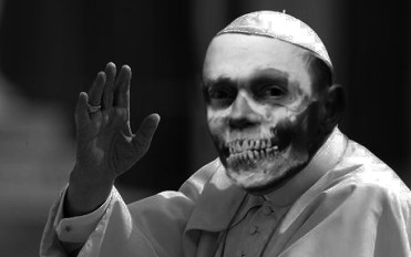 The new pope? Pope Guzman, formerly known as Cardinal Guzman...? We'll have to wait and see after the elections.