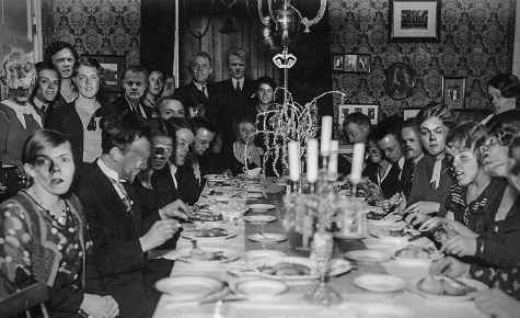 Surrealism at a Cardinal Dinner Party, 1934.