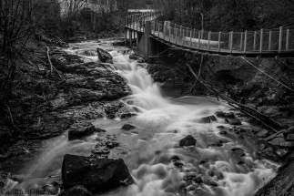 Alnaelva (Alna River), Oslo.