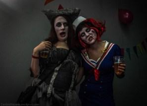 Great costumes at Cirka Loka's HalloKween party.