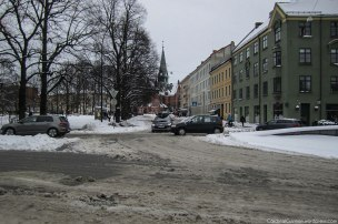 Sagene Church in the background (search the blog for a better photo of Sagene Church).