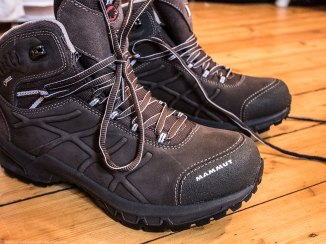 New hiking boots for my musk ox safari (see one of my previous posts for the full story).