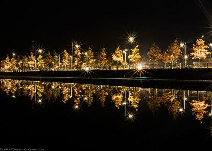 Night photography: Vannspeilet.