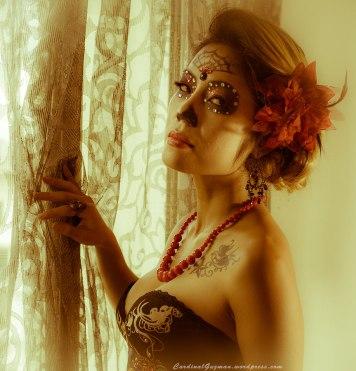 Photo: CardinalGuzman.wordpress.com, Model: Rogue Seraphim, Make-up: Adia Braun
