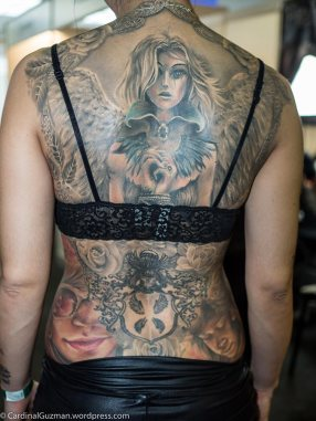 Zsófia did all these tattoos (except the lower middle one).
