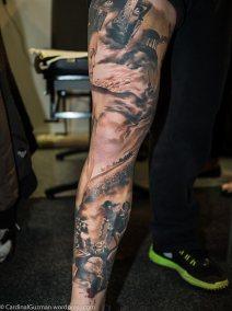 Model: Varga Róbert, tattoos by Zsófia Bélteczky.