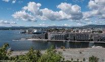 August: Oslo seen from Ekeberg.
