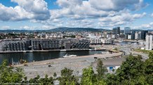 August 2016: Oslo cityscape.