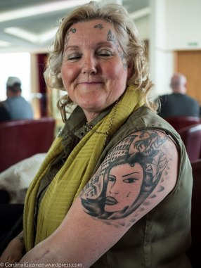 This grandma had no less than 84 tattoos