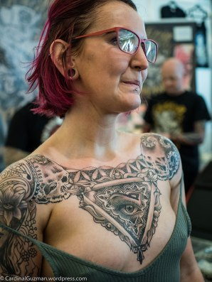Carissa Black, inked by John Jamison Rainey, Aka Snoopy Tattoo.