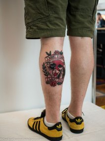 Best Old School Award went to Marc Wilson from Kapital Ink Lisburn.