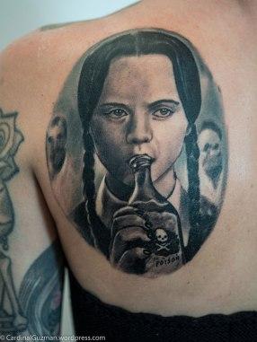 Rachel Cusick inked by Jordan Oterski | Sacred Art Tattoo Manchester