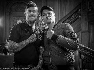 John MC, Julian Carson & Danny O'Donoghue.