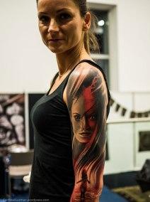 Ania, inked by Tomash Blaszczak.