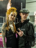 Shelly D'Inferno & Max. Marseille Tattoo Convention.