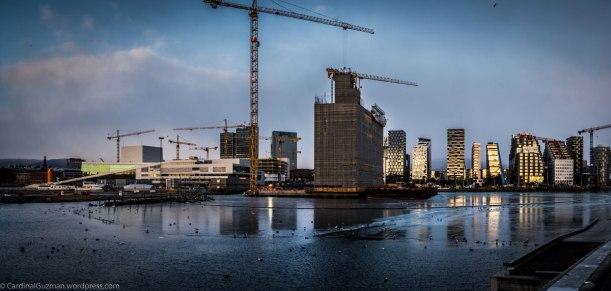 Oslo Opera / construction / Barcode
