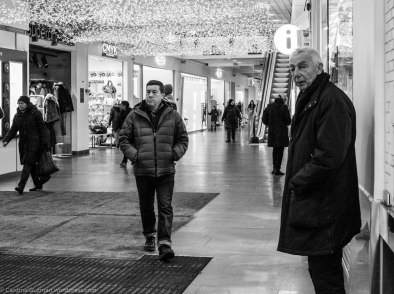 """At the shopping mall """"Oslo City"""" where the security crew threw us out for photographing with DSLR's."""