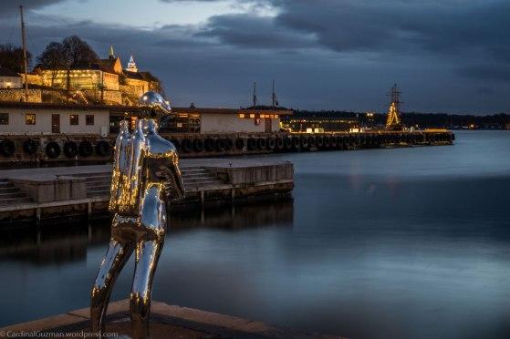 Rådhuskaia / The City Hall docks.