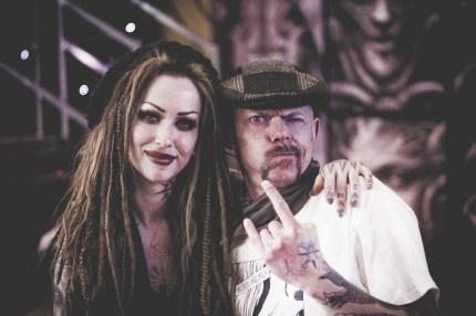 Shelly d'Inferno & Max. Photo: Sweaker SWKR