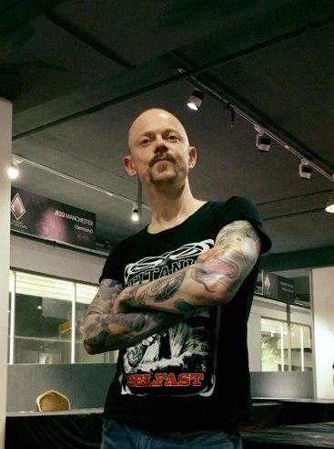 Thailand Tattoo Expo, Bangkok. Photo: Alexandre Jabier