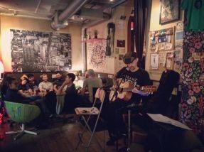 Playing live. Photo: Hsin Chia Liu