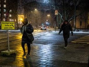 Snow / night photography