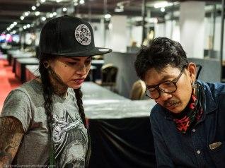 Natcha Plainche & Baipai TattooArtist