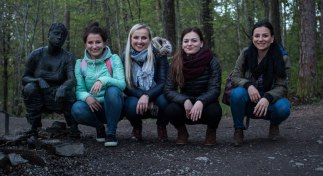 Wonderful girls Janka, Katka, Majka & Miriam from Slovakia