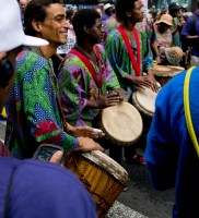 To the beat of their own drums
