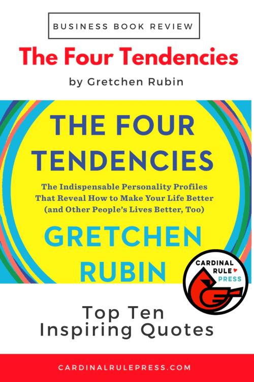 Business Book Review-The Four Tendencies - cardinalrulepress.com