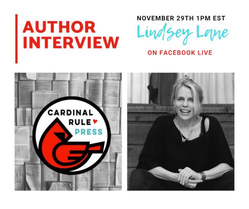 Author Interview With Lindsey Lane - cardinalrulepress.com