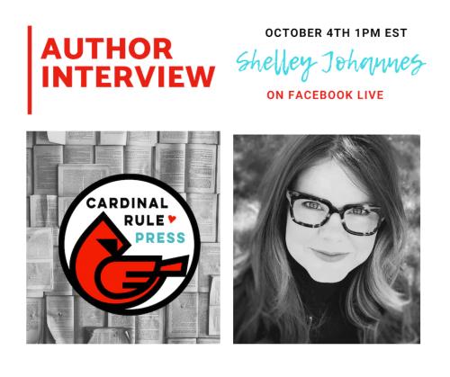 Author Interview Series-Shelley Johannes - cardinalrulepress.com