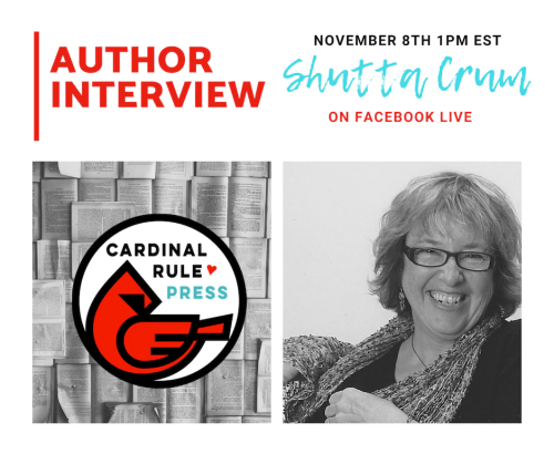 Author Interview Series-Shutta Crum - cardinalrulepress.com