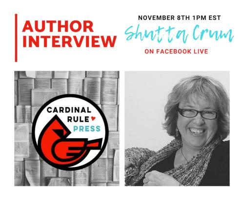 Author Interview Series-Shutta Crum - cardinalrulepress.com