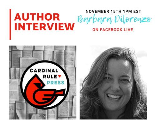 Author Interview With Barbara Dilorenzo - cardinalrulepress.com