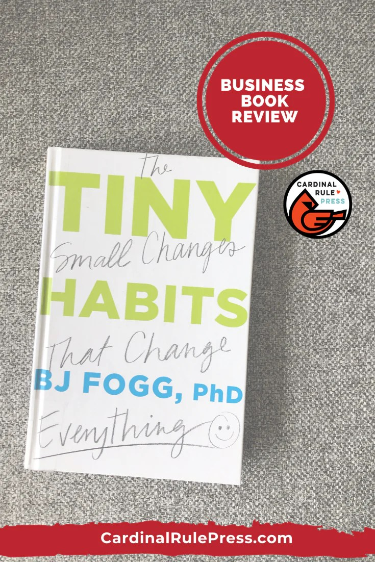 Business Book Review-Tiny Habits