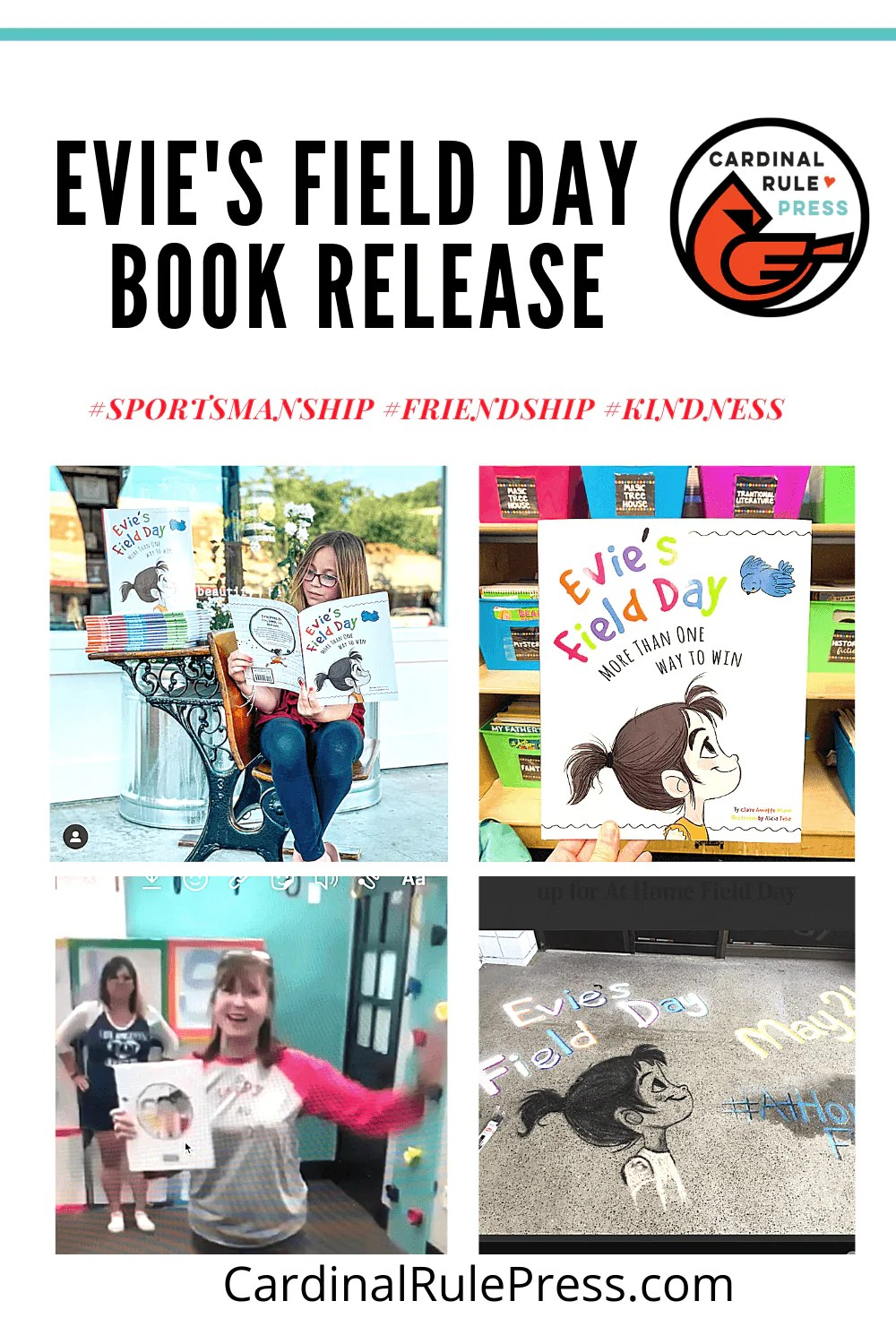 Evie's Field Day Book Release